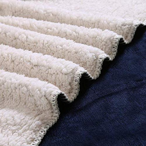 "Exclusivo x 70"" Reversible Throw - Lightweight, Warm, Soft and"