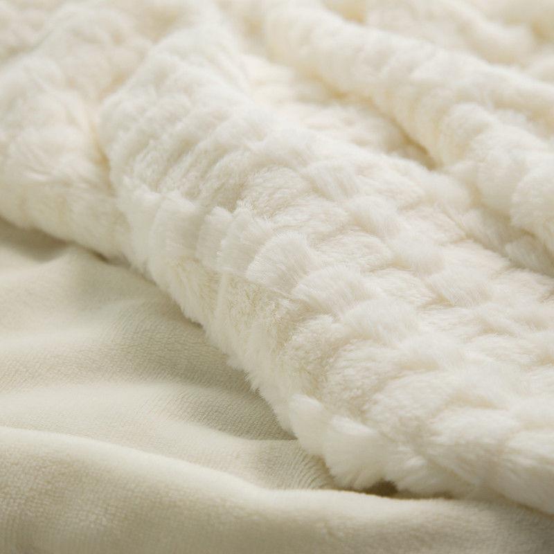 Bedsure Fur Super Warm Gray