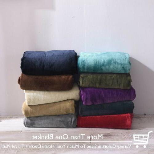 VEEYOO Fleece Blanket Soft Bed