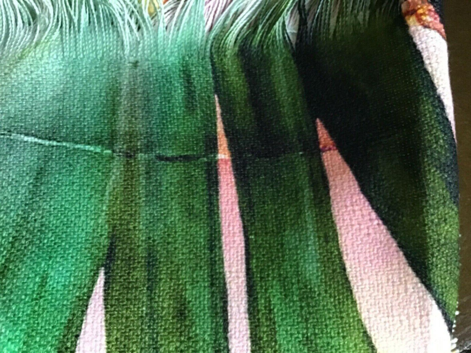 Marta Barragan Camarasa Leaf Woven Throw Blanket Pink -