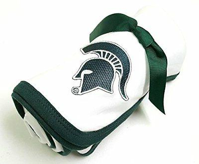 Future Tailgater Michigan State Spartan Baby Receiving Blank