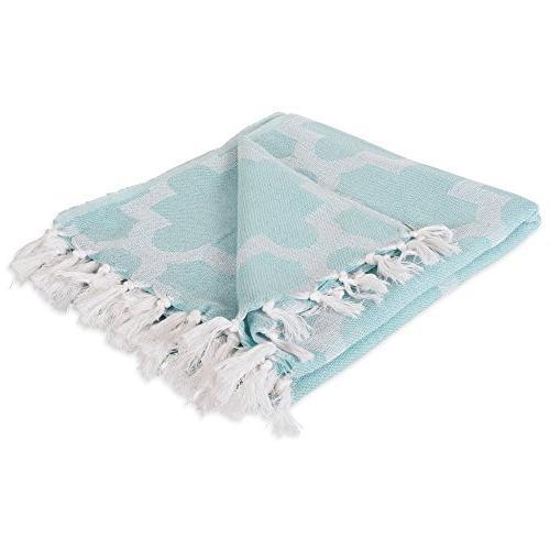 modern moroccan cotton blanket throw