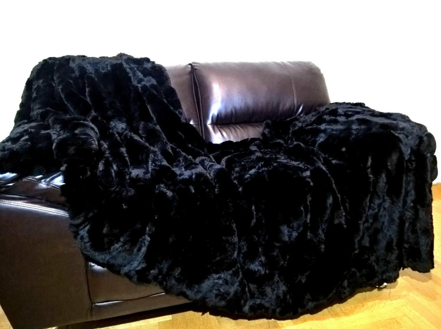 "Multipack : Real Black Rex Blanket Pillow 20""x 20"""