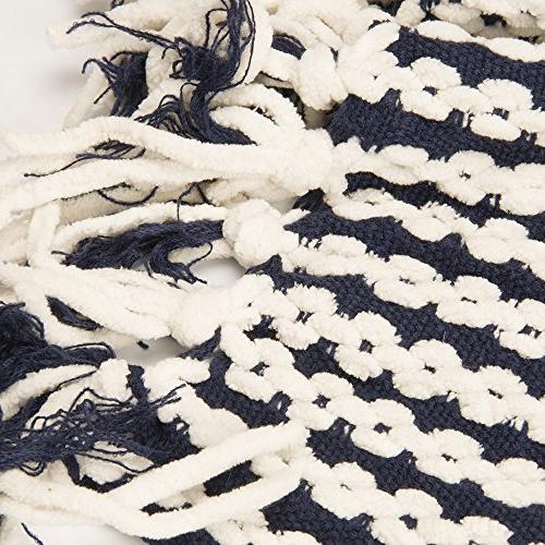 """Battilo Navy White Chain 50"""" Inc"""
