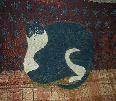 New Fat Cat Blanket Art