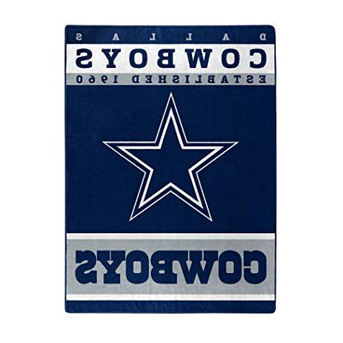 nfl dallas cowboys plush raschel
