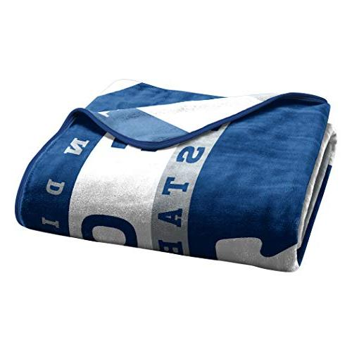 """The Company Licensed NFL Indianapolis 12th Man Throw Blanket, 60"""" 80"""""""