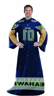 NFL Seattle Seahawks Full Body Player Comfy Throw