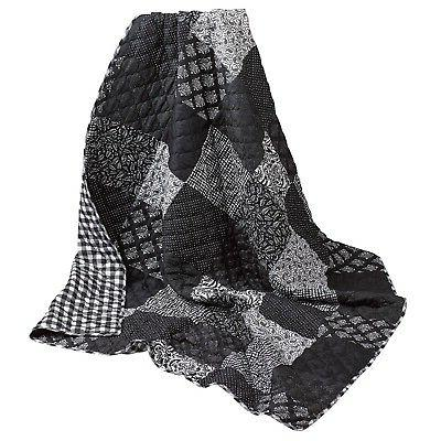 night and day quilted throw blanket reversible