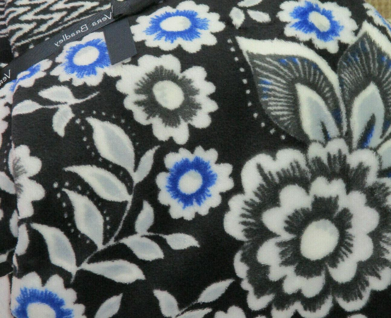 NWT Vera Bradley Snow Lotus Blanket 80