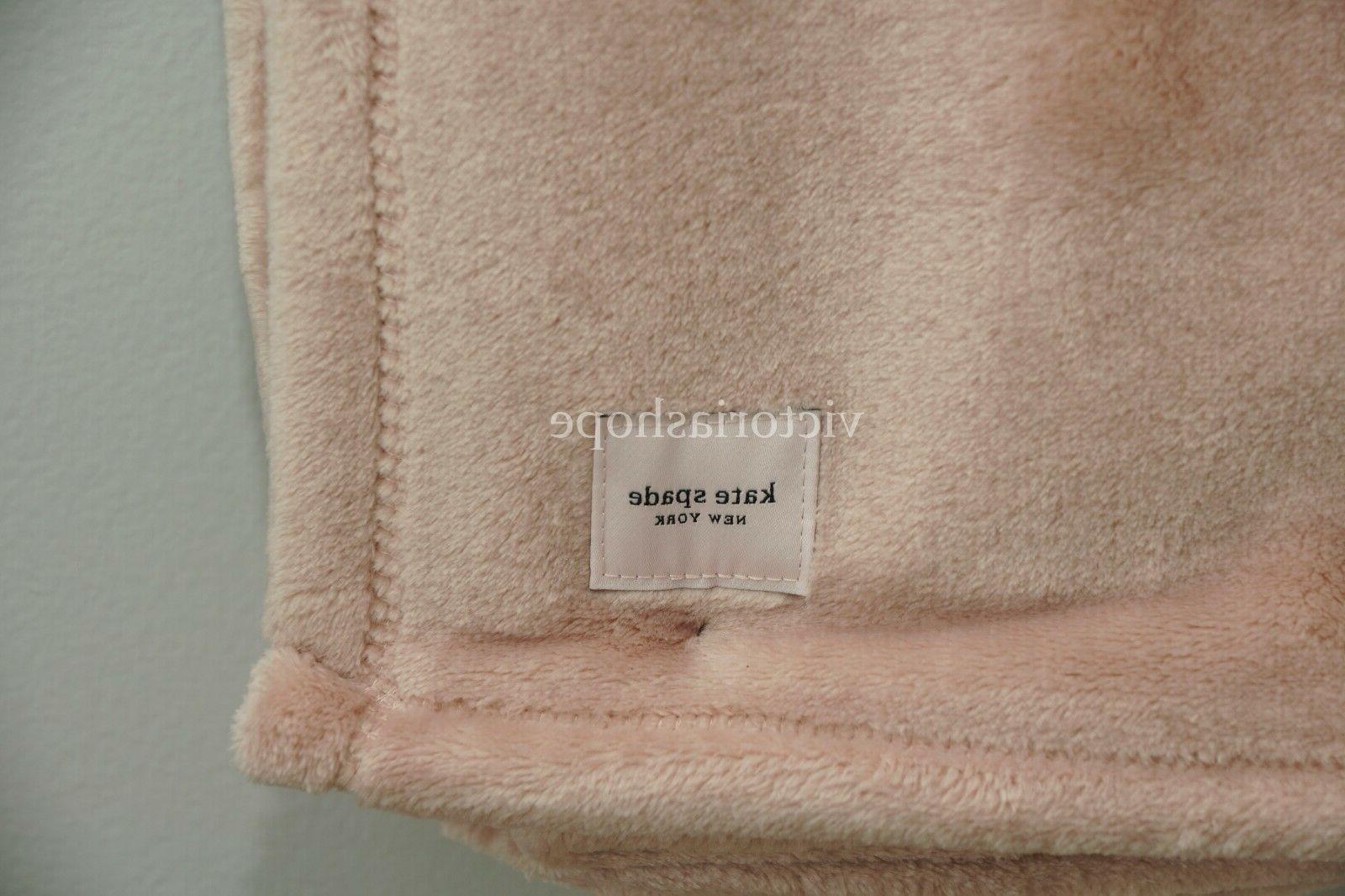 NWT Kate Spade Fleece X Rose Pink