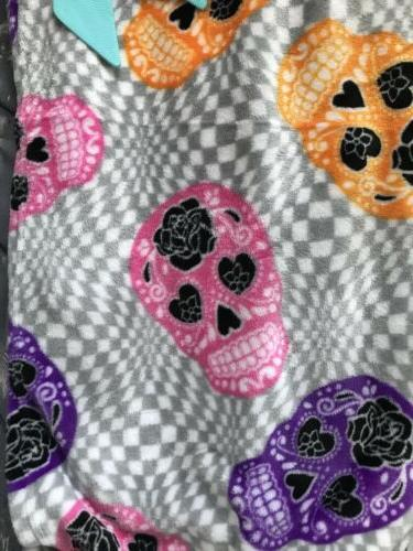 NWT Betsey Throw Blanket Halloween checkered 50x70