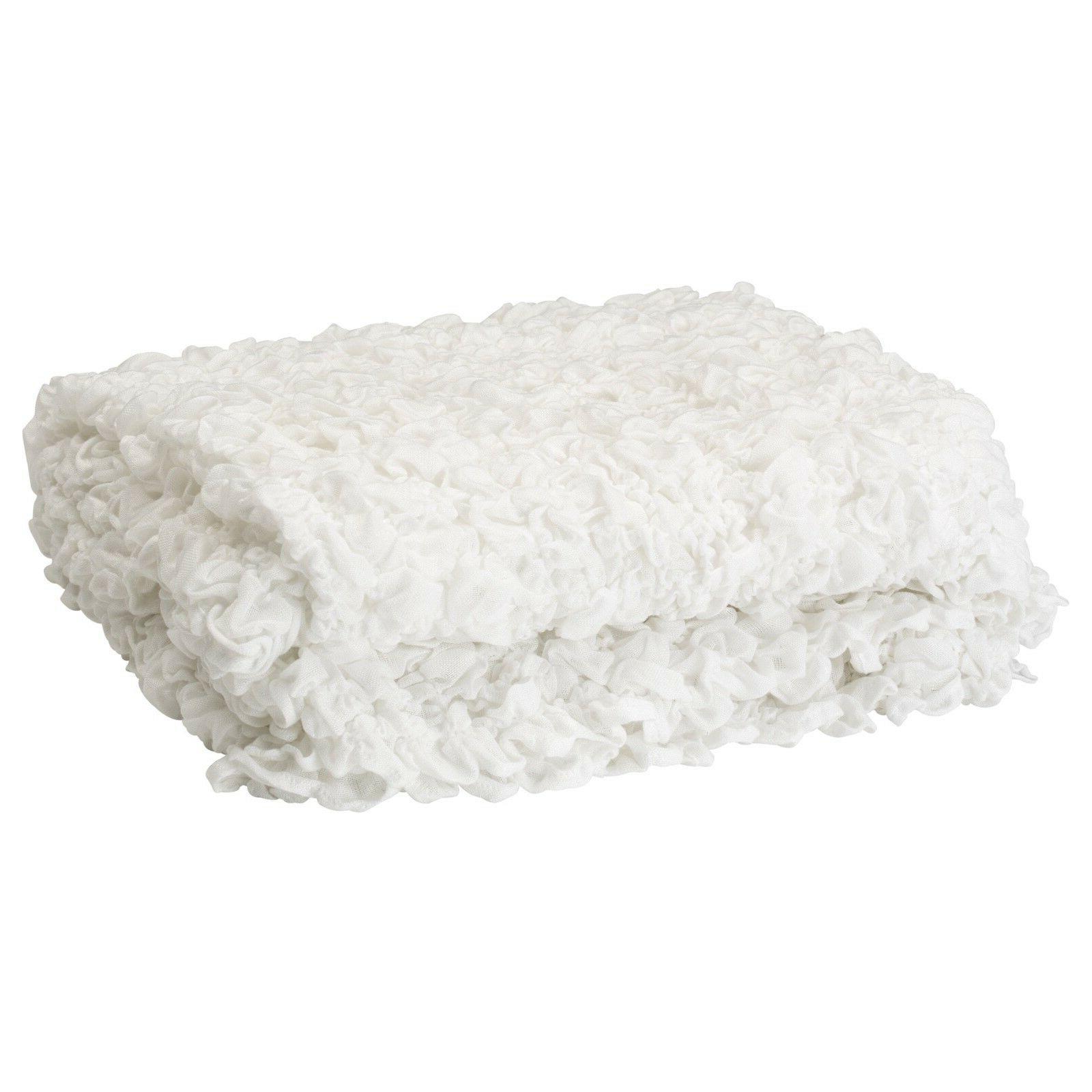 Ikea Soft Crinkled Throw x -
