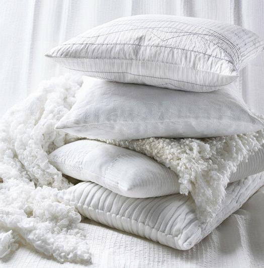 "Ikea Super Crinkled Blanket x 67"" White 601.315.93 -"