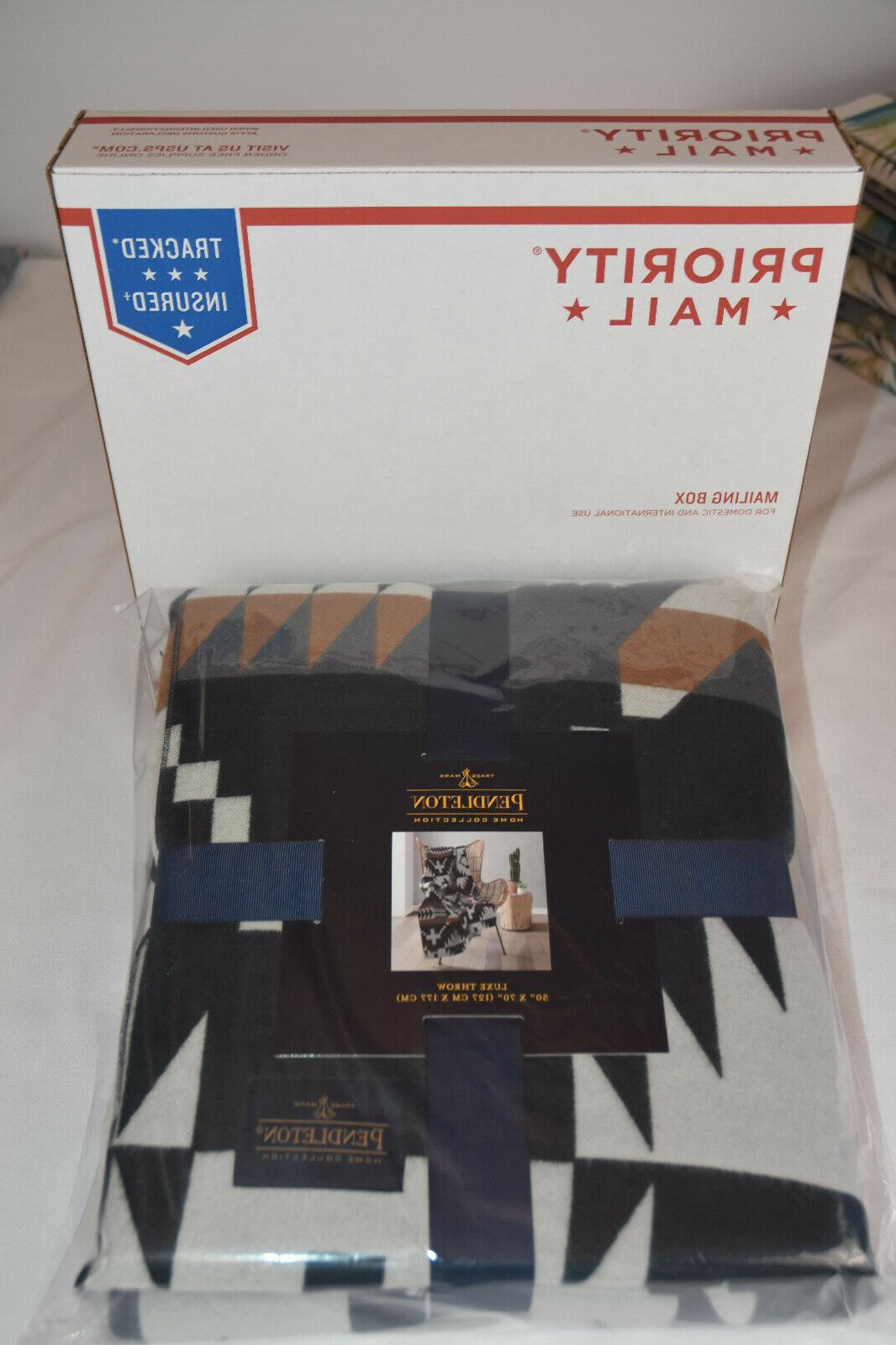 Pendleton Collection Luxe Ships USPS Priority Box