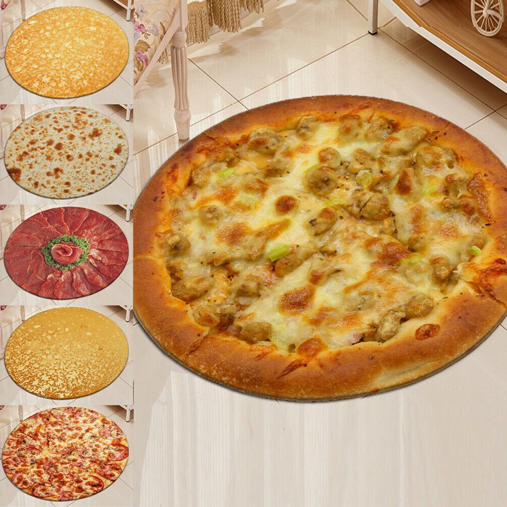 "Pizza Tortilla Bath Mats <font><b>Blanket</b></font> 40""/60""/<font><b>90</b></font>"" <font><b>Blanket</b></font>-Corn & Flour <font><b>Throw</b></font>"