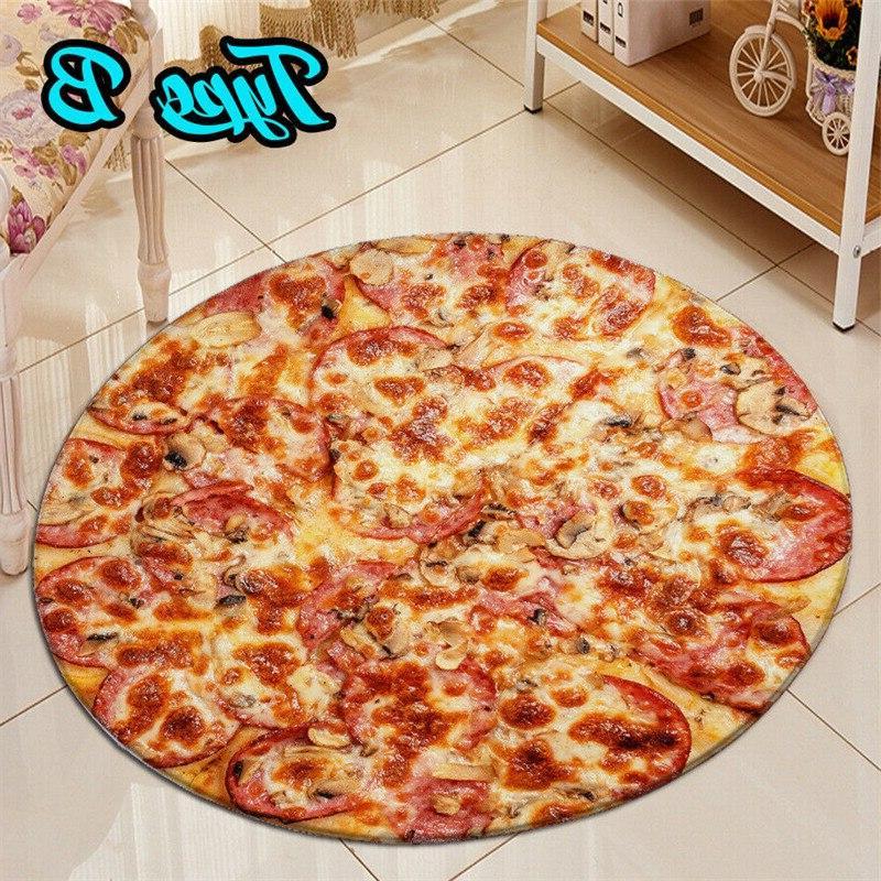 "Pizza Tortilla <font><b>Blanket</b></font> 40""/60""/<font><b>90</b></font>"" <font><b>Throw</b></font>"