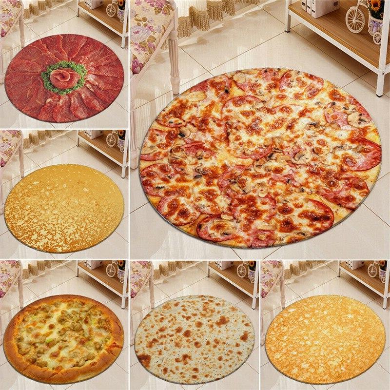 Pizza Tortilla Burrito <font><b>Throw</b></font> 40/60/90CM