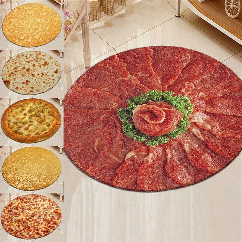 Pizza Tortilla Burrito <font><b>Blanket</b></font> <font><b>Throw</b></font>