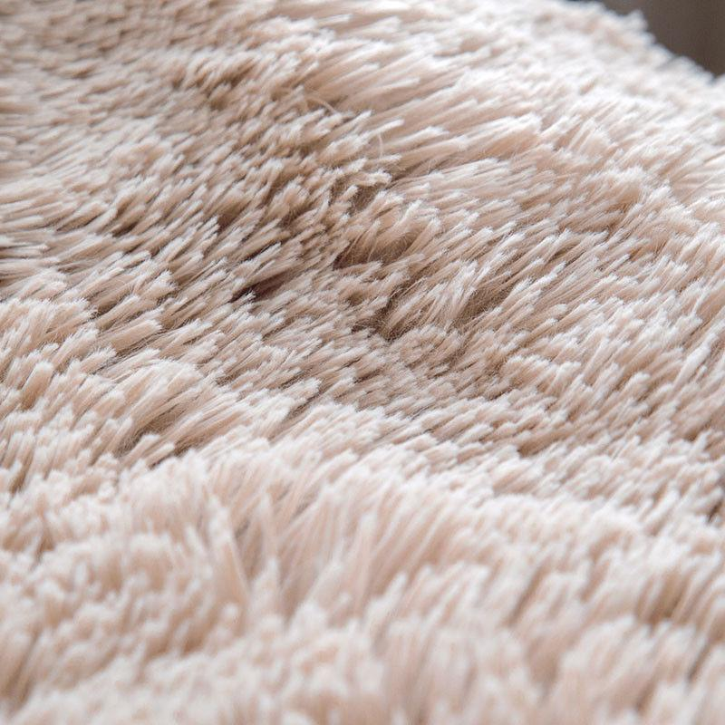 Bedsure Faux Reversible Fleece Throw Fuzzy Warm Soft Bed Blanket