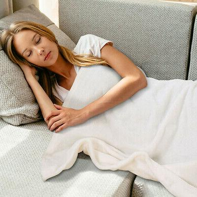 Plush Fleece Blanket Warm Microfiber Blanket Large King