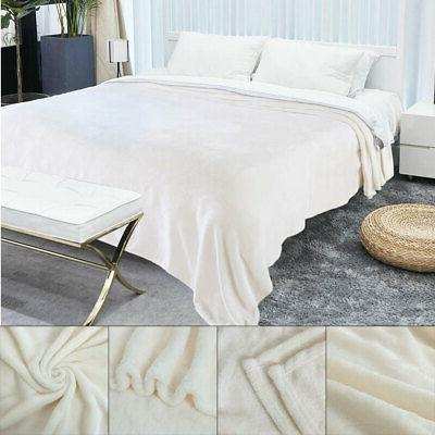 plush flannel fleece throw blanket soft warm
