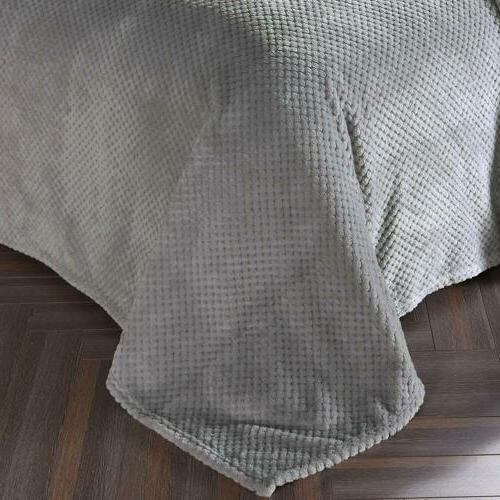 Blanket Soft Fur for Sofa Bed Bedspread