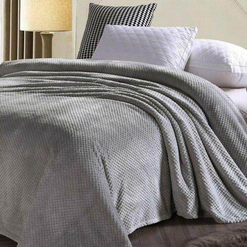 Flannel Soft Fur Sofa Bed