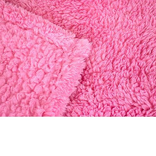 PAVILIA Plush Blanket for Couch Sofa | Fluffy Throw | Cozy, Lightweight x 60 Inches