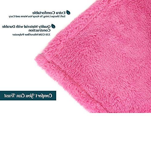 PAVILIA | Fluffy Throw Cozy, Lightweight | Pink x Inches