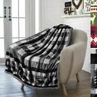PAVILIA Premium Plush Sherpa Throw Christmas Blanket   Soft,