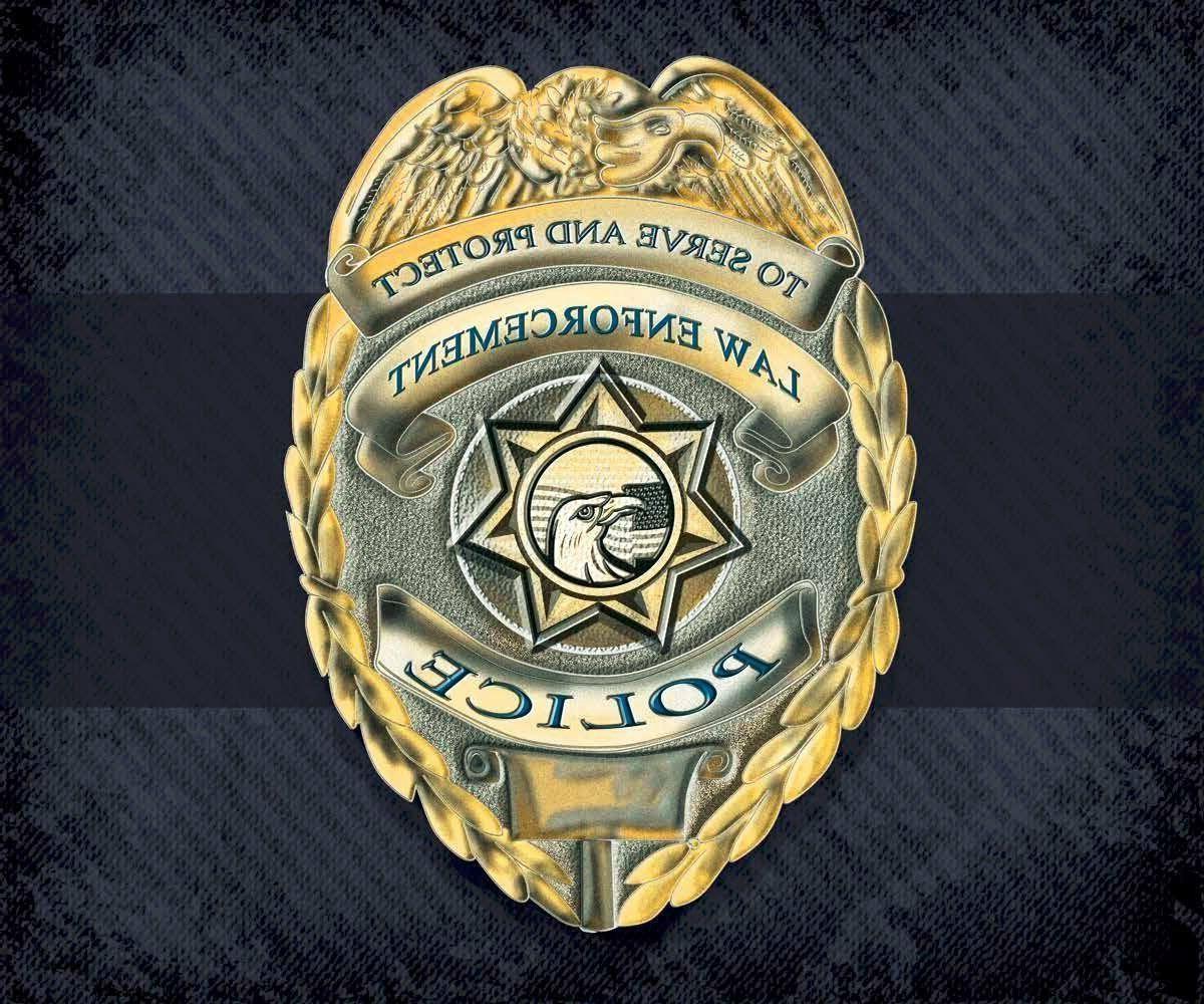 "Police Serve and Protect Fleece Throw Blanket 50"" x 60"""