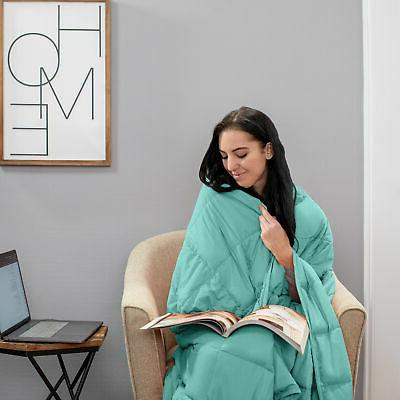Quilted Microfiber Throw Blanket
