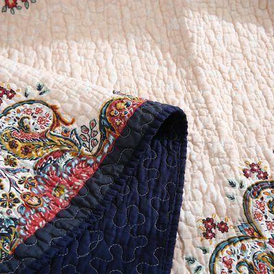NEWLAKE Quilted Blanket Antique 60X78