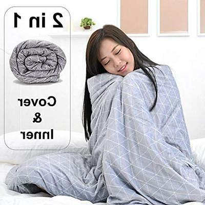 Rocabi Weighted Bed Blanket Home Kitchen