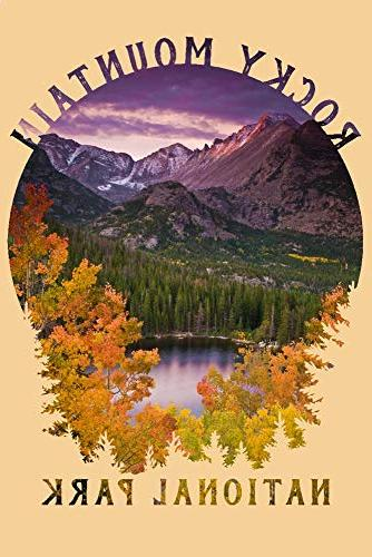 Lantern National Park, Colorado Purple and - -