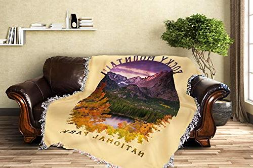 Lantern Press National Park, Colorado Purple Sunset - Photography -