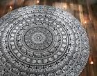 Round Mandala Indian Hippie Beach Picnic yoga mat Throw Towe