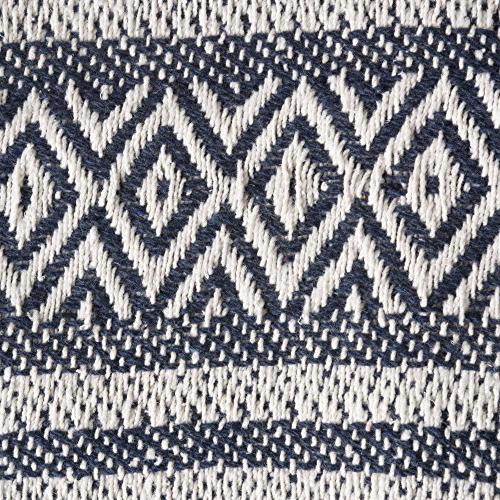 DII Rustic Farmhouse Cotton Adobe Stripe Blanket Throw with For Couch, Picnic, Beach, & Everyday Use 50 x Adobe