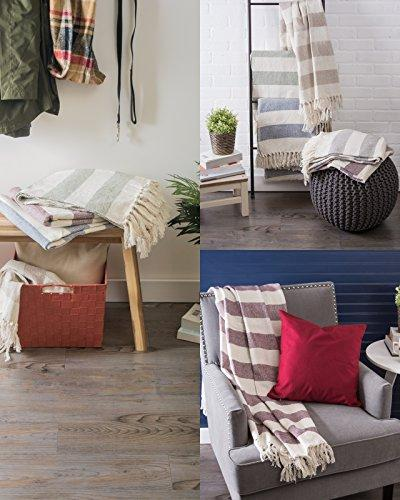 DII Rustic Farmhouse Cabana Striped with For Chair, Couch, & Everyday Use, x Striped French