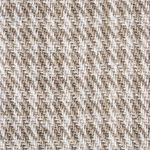 DII Rustic Farmhouse Houndstooth Blanket Throw Fringe For Picnic, Beach, Use, 50 60 - Stone