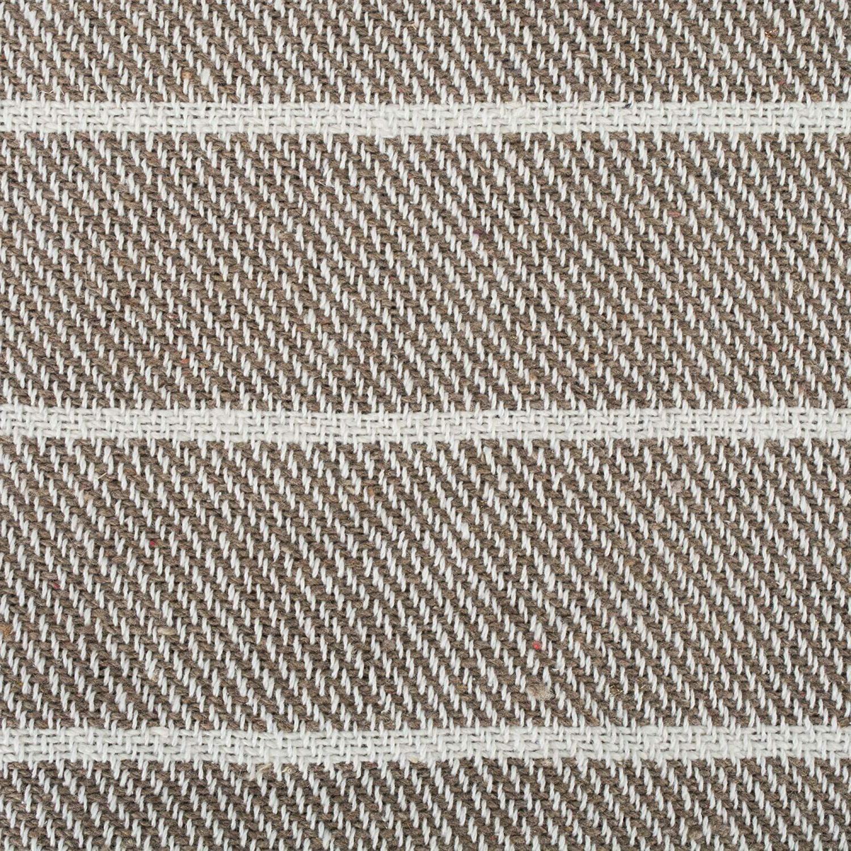 DII Rustic Thin Stripe Woven Throw, 50x60, Stone