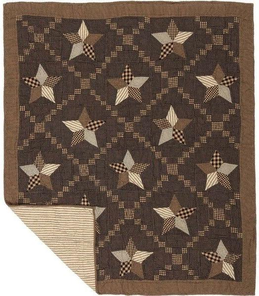 Rustic Quilted Patchwork Cover