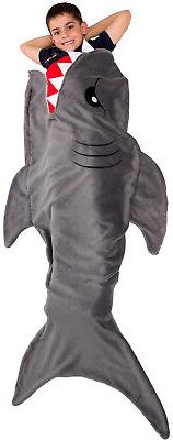Silver Lilly Animal Tail Blanket - Plush Animal Sleeping Bag