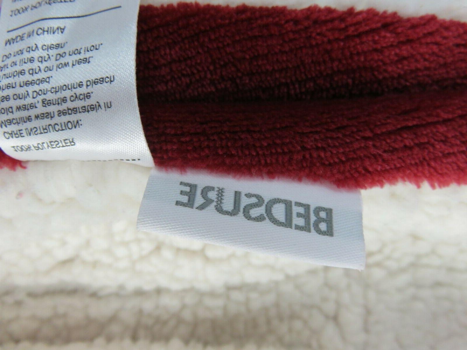 BEDSURE Fleece 65in x 50in Plush Soft