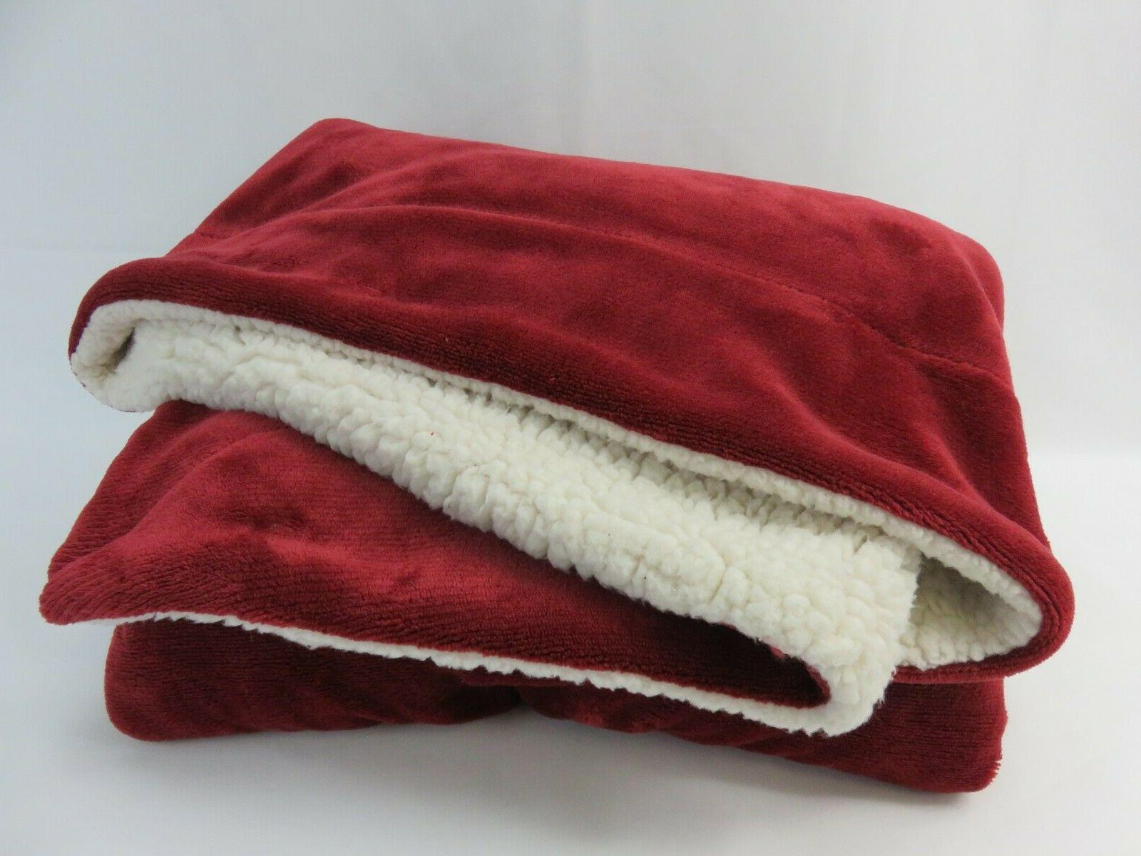 BEDSURE Blanket 65in Plush Blanket Soft