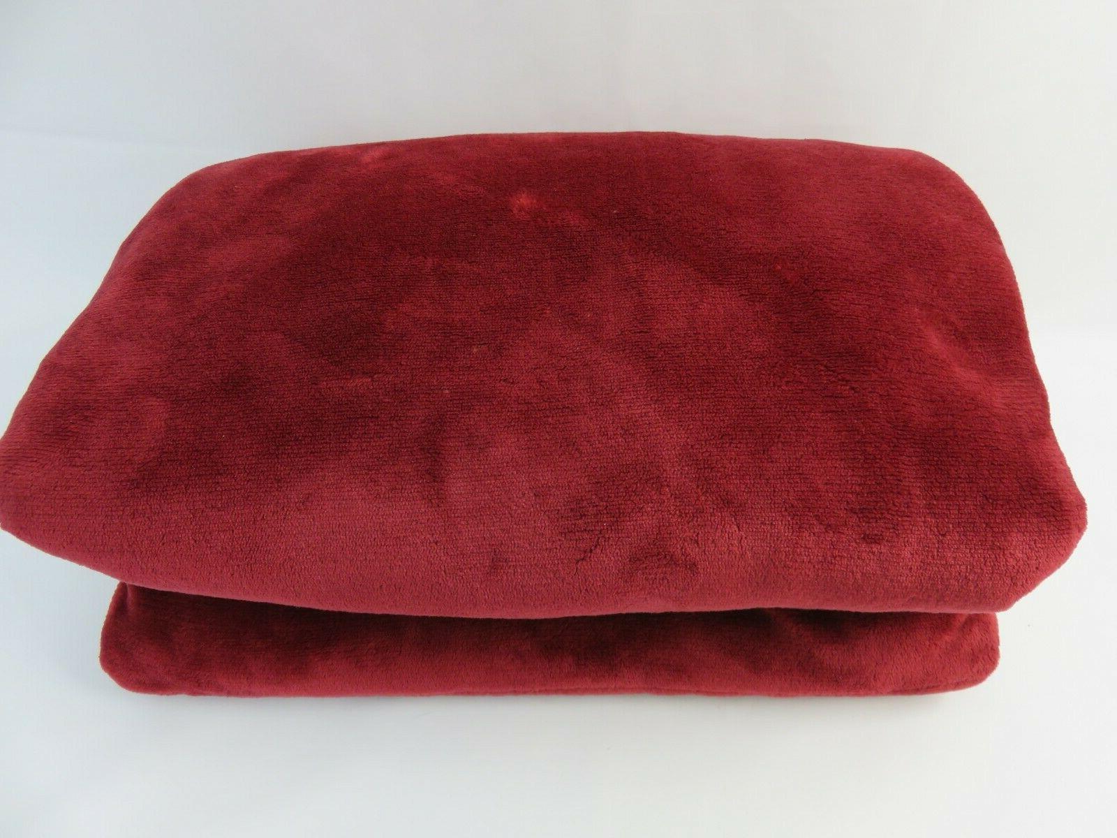 BEDSURE 65in x 50in Plush Blanket Soft