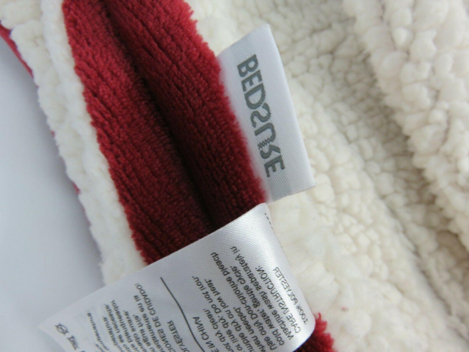 BEDSURE Sherpa Blanket 65in x Plush Fuzzy Soft