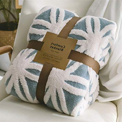 sherpa fleece blanket fuzzy soft