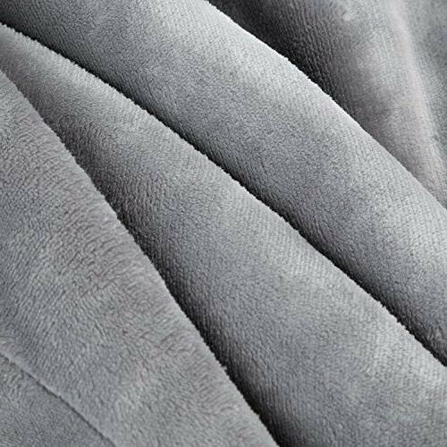 BEDSURE Fleece Blanket Twin Throw Blanket Blan
